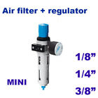 Pneumatic air filter pressure regulator MINI Festo type LFR with pressure gauge