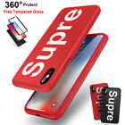 iPhone X 7 8 6S Plus Supre Case 360 Full Protect Shockproof + Tempered Glass  iphone x cases 360 protection 3326660636444040 1