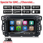 For GMC Chevrolet Yukon Bulck In dash Car Stereo Radio DVD Player GPS Navigation