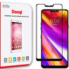 Dooqi For LG G7 ThinQ Full Coverage 3D Curved Tempered Glass Screen Protector