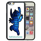 Ohana means family Lilo stich quote Rubber Phone Case Cover For iPhone 5 6 7 8.