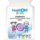 Health4All Kids Vitamin D3 600iu Chewable Tablets Orange Flavour | 3 to 12 years £5.99 GBP on eBay