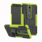Shockproof Case Hard Protective Kickstand Slim Phone For Nokia 6.1(Nokia 6 2018)