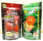 200gr Okiko: Head Up + Quick Red for flowerhorn. small, medium, large, S M L