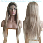 T2/6/22 Full Lace wigs Women Fashion soft Human Hair wig with baby hair N.L.W