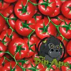 TOMATOES VEGETABLE FOOD HYDROGRAPHIC WATER TRANSFER HYDRO FILM DIP APE