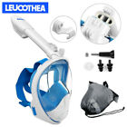 LEUCOTHEA 2019 New Version Full Face Diving Snorkel Mask Swimming Scuba Anti-Fog