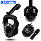 LEUCOTHEA 2018 New Version Full Face Diving Snorkel Mask Swimming Scuba Anti-Fog