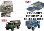 NEW WPL CANOPY 1:16 SCALE 2.4G RC 4X4 MILITARY ARMY TRUCK COVER HENGLONG FWD 4x4