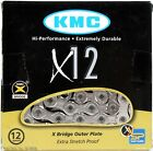 Внешний вид - KMC X12 12-Speed 126-Links MTB Bike Chain Silver fits 12-Speed SRAM NX/GX Eagle
