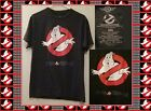Mad Engine GHOSTBUSTERS T Shirt Black Distressed Image Japanese Writing Mens Med