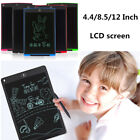 4.4/8.5/12 Inch Large LCD Tablet DIY Writing Drawing Memo Board Graphic Pad Kids