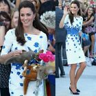 K Middleton Style of Dress In The Summer of 2018 Half sleeve Sexy Dress