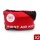 A Must Have for Every Family ARTG - 2 X 303 Piece Emergency First Aid Kit