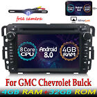 Android 8.0 Car DVD GPS Radio Navigation 4G For GMC Yukon Sierra Chevrolet Bulck