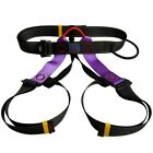 Outdoor Rock Climbing Sitting Bust Belt Safety Seat Rappelling Harness Saddle