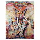 119954 Indian abstract Elephant best Decor WALL PRINT POSTER UK