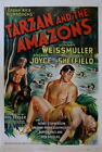 120151 Tarzan and the Amazons Movie Vintage Decor WALL PRINT POSTER UK
