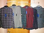 NWT NEW mens APT 9 slim fit soft touch flannel shirt $46 retail