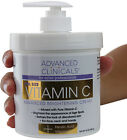Advanced Clinicals Brightening Vitamin C Cream for Age & Dark Spots - New 16oz image