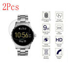 [2- Pack] 9H Hardness Tempered Glass Screen Protector For Fossil Q Marshal