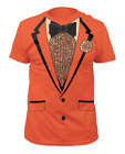 Orange Tuxedo T-Shirt Costume Lloyd Christmas Dumb And Dumber Prom Tux Movie