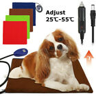 Electric Car Heating Heater Heated Mat Pad Blanket Bed For Pet Dog Cat Rabbit