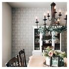 Brewster Garland Dove Gray Block Tulip Scandinavian Contemporary Wallpaper Farm