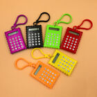 Plastic 8 Digits Electronic Mini Calculator Keychain School Office Supplies Fine