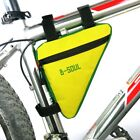 Cycling Bicycle Front Frame Triangle Bag Bike Tube Pouch Holder Saddle Panniers