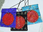 "Brocade Shoulder Bag 7x6 22"" strap Chinese Design silky lightweight party GIFT"
