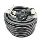 Parkworld 50A RV Shore Power NEMA 14-50P to SS2-50R Extension Cord Adapter