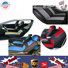 Auto Polyester Car Seat Covers 1 Set Durable w/ 5 Headrest Best seller New