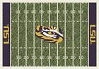 LSU Tigers Louisiana State Football Field Rug