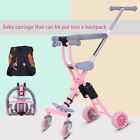 Retro Portable Tricycle Trolley Stroller Pram Pushchair Travel for 1-7 Years