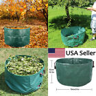 Lawn and Leaf Bags Reusable Garden Collapsible Yard Waste Debris Container