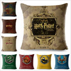 Harry Potter Pillow Home Decoration Waist Cushion Cover Hogwarts Death Geometric
