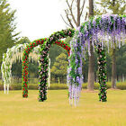 Внешний вид - Wisteria Flowers Vine Silk Flower Wedding Garden Party Hanging Decor high