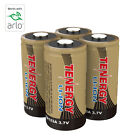 Tenergy RCR123A 3.7V Li-ion Rechargeable Battery Kit for Arlo Wireless Camera