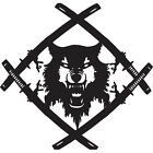 Hollow Squad Xavier Wulf vinyl decal sticker for Car/Truck Window computer skate