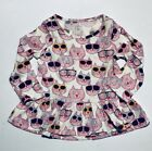 NWT BABY GAP GIRLS SHIRT TOP peplum  kitty cats     you pick size