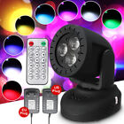 3x4W LSY081 Multicolor Voice-Activated Stage Light Disco Party Lamp 110/220V