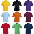 Fruit Of The Loom Mens 65/35 Pique Short Sleeve Polo Shirt (BC388)
