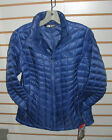 THE NORTH FACE WOMENS THERMOBALL FULL ZIP JACKET- A BLUE -S -AUTHENTIC