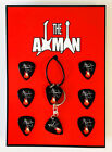 Ace Frehley (Kiss) - Pendant, Keyring and 6 Plectrums (UK Seller)