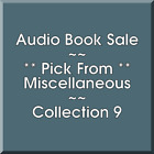 Audio Book Sale: Miscellaneous (9) - Pick what you want to save