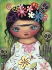 Muerto's Fest by Abril Andrade Griffith Canvas or Paper Rolled Art Print