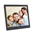 "16"" HD Clock MP4 Movie Player Digital Photo Picture Frame Album Remote Control"