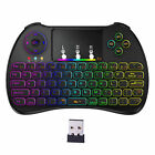 H9 Backlit Air Mouse Mini Keyboard Wireless 2.4G Remote Touchpad Android TV Box
