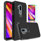For LG G7 ThinQ/G7 One/G7 Fit Shockproof Armor Case Cover With Screen Protector